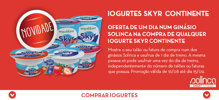 Iogurtes Skyr - Continente