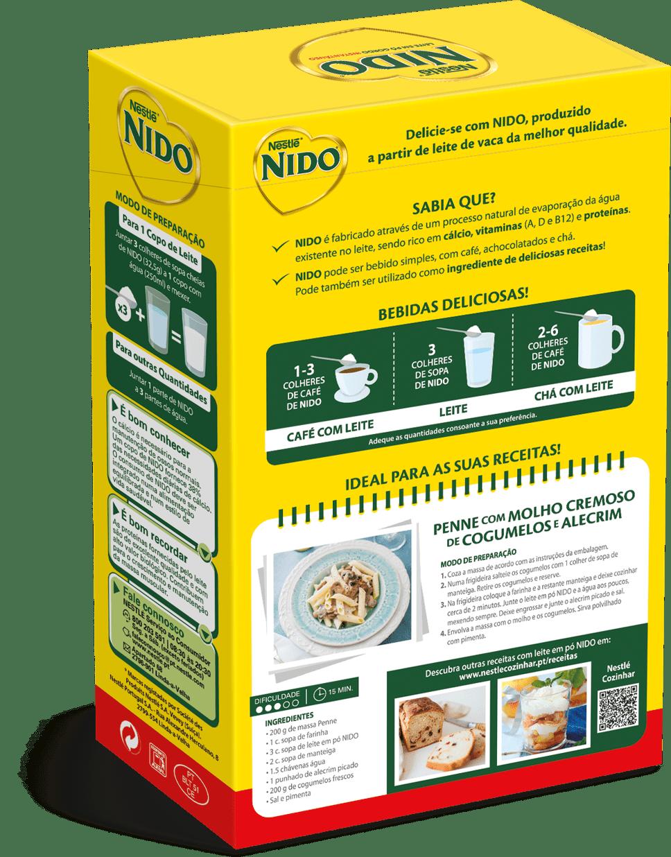 leite ninho em portugal